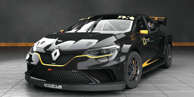 Guerlain Chicherit y Prodrive pondrán dos Renault Mégane en pista
