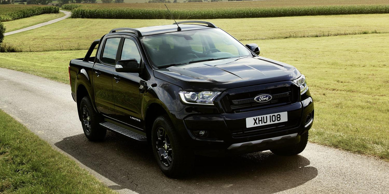 Ford Ranger Black Edition en edición limitada