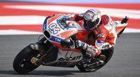 """Andrea Dovizioso: """"Me veo para luchar por el podio"""""""
