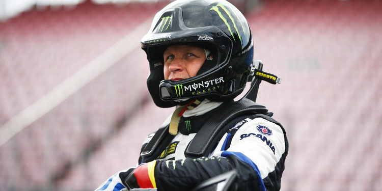 Petter Solberg sufre una rotura de clavícula