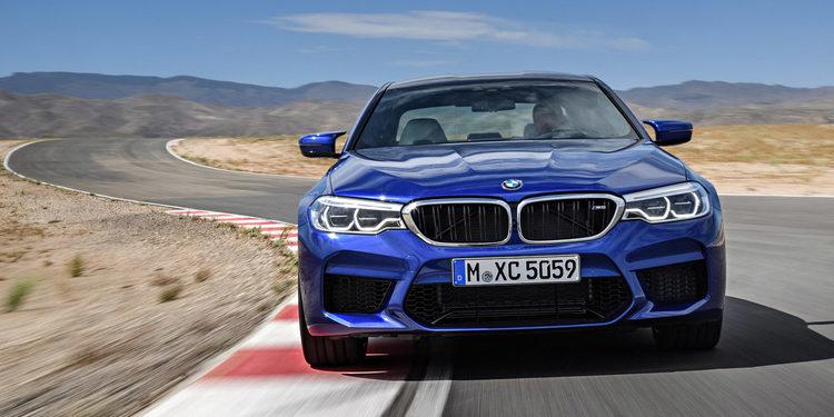 BMW hizo oficial el M5 en Frankfurt