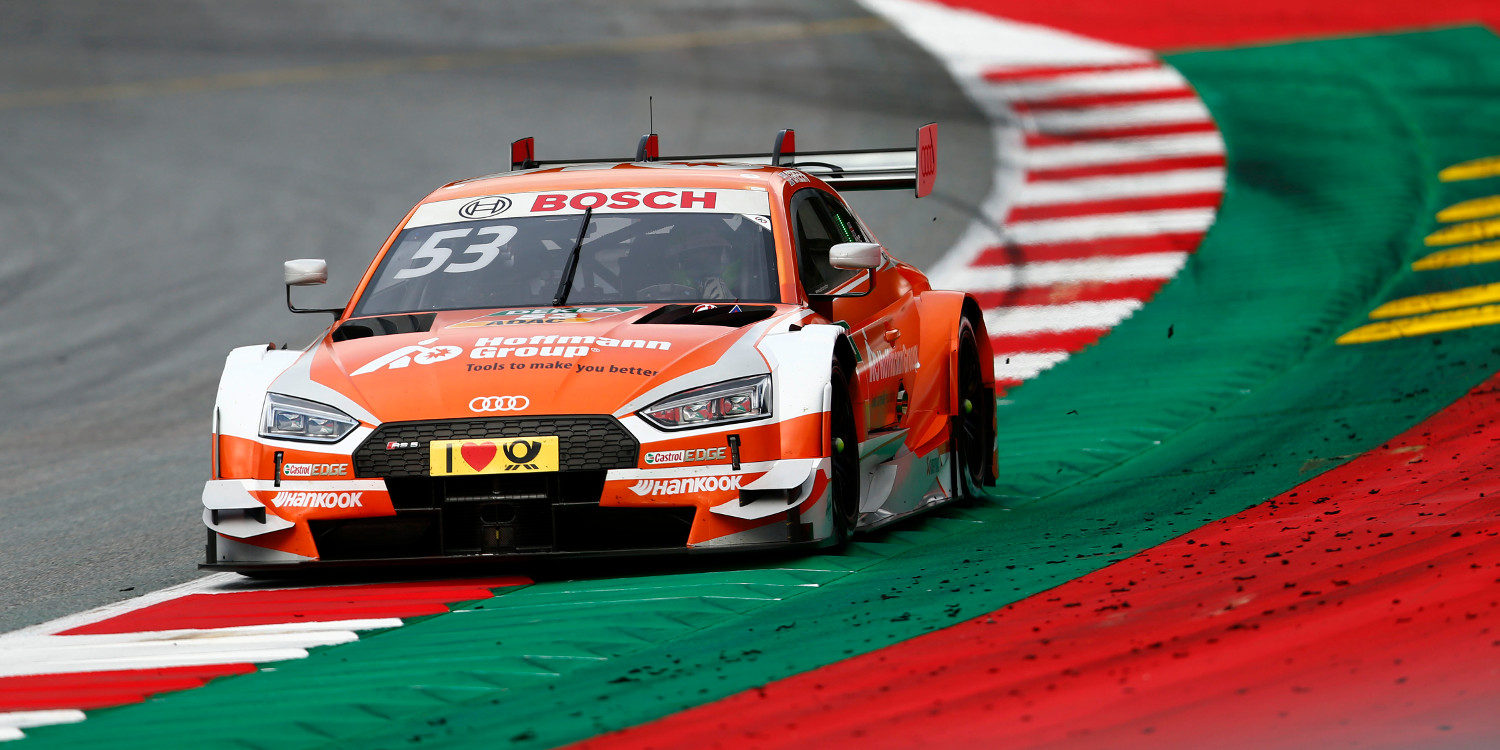 Jamie Green logra la primera pole del Red Bull Ring