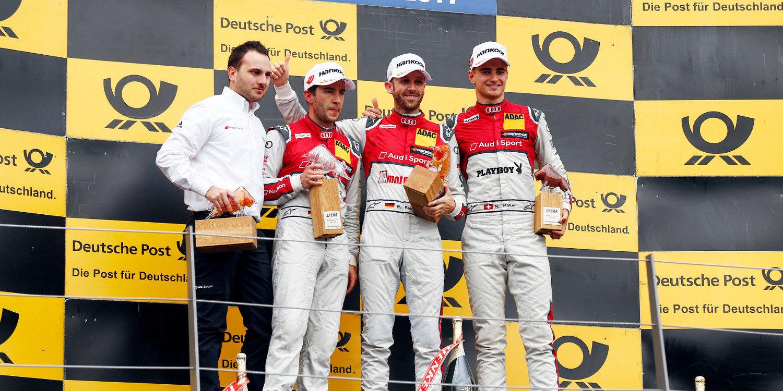 René Rast gana una turbulenta carrera en el Red Bull Ring