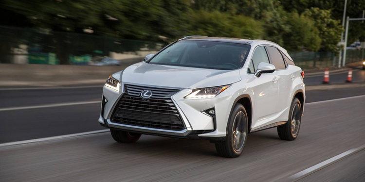 Lexus incorpora nuevas versiones a su modelo RX