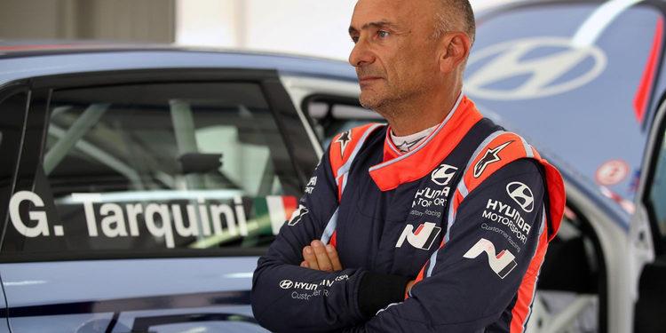"""Gabriele Tarquini: """"Es una oportunidad de mostrar lo competitivo que es el Hyundai i30 N"""""""