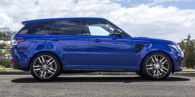 La nueva Range Rover Sport SVR más potente y exclusiva