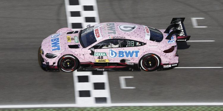 Mercedes AMG DTM quiere terminar la temporada en lo más alto