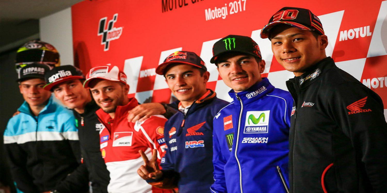 Rueda de prensa del Gran Premio de Japón