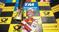 El debutante René Rast consigue el título del DTM