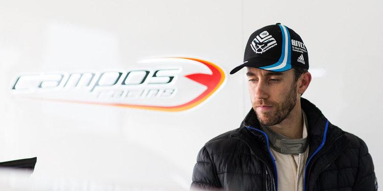 """Esteban Guerrieri: """"Estoy muy feliz y orgulloso de Campos Racing"""""""