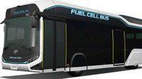 Toyota presentó el Autobús Sora impulsado por hidrógeno