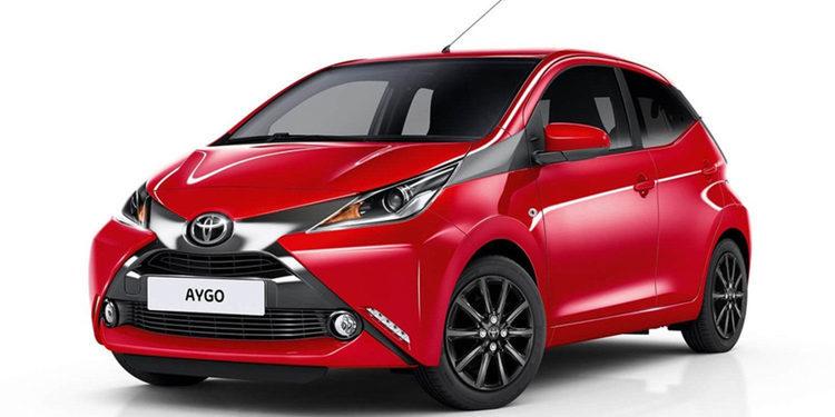Toyota presentó el novedoso Aygo x-cite 2018