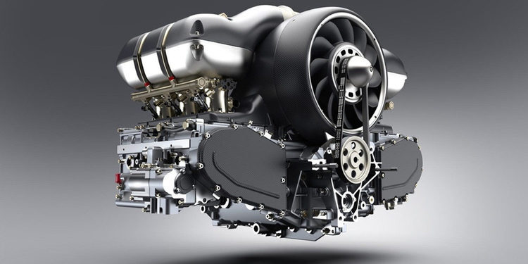 La máquina perfecta para un Porsche 911