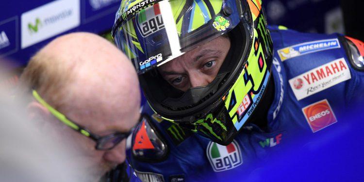 """Valentino Rossi: """"No he sido capaz de mejorar en la última vuelta"""""""