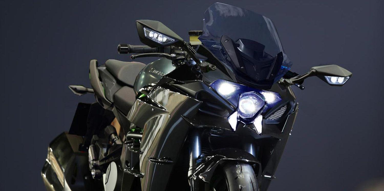 La nueva Kawasaki Ninja H2 GT está en camino