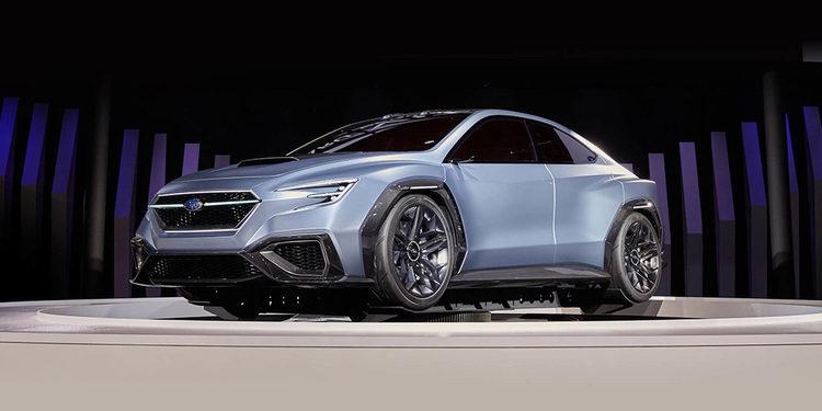 Subaru presentó el Viziv Performance Concept en Tokio