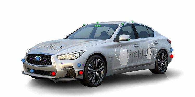 Nissan prueba su tecnología autónoma en Tokio