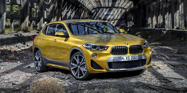 El nuevo BMW X2