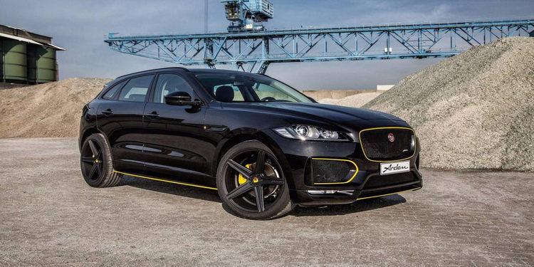El Jaguar F-Pace de Arden