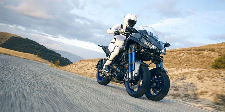 Ya está aquí la nueva Yamaha Niken 2018
