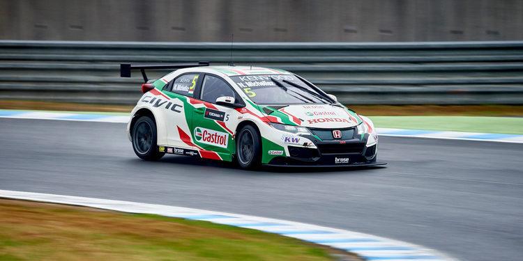 Norbert Michelisz es el más rápido en los Libres 1 en Japón