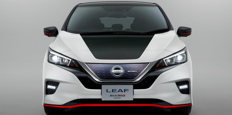 0958de73b Nissan muestra el prototipo LEAF NISMO en Tokio - Motor y Racing
