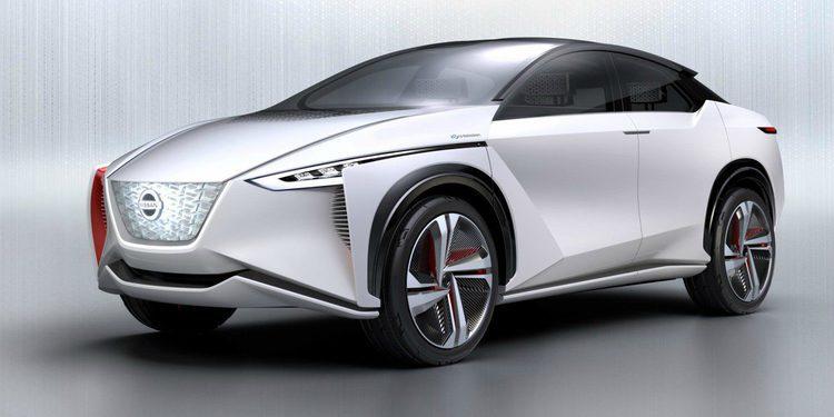 El prototipo Nissan IMx de cero emisiones en Tokio