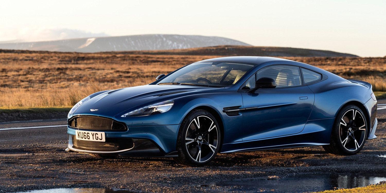 Aston Martin Vanquish S Coupe 2017