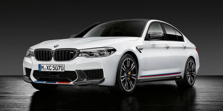 BMW presentó el nuevo M5 2018 Performance
