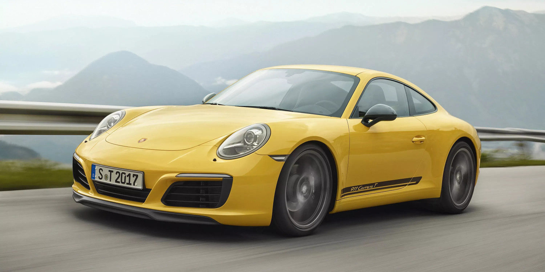 Porsche presenta el imponente Carrera 911 T