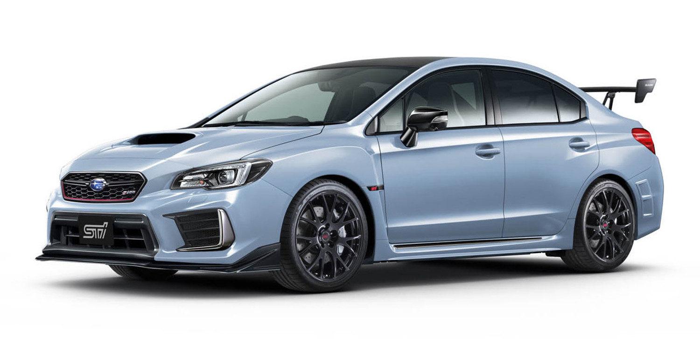 Subaru presentó el radical WRX STi Edición Especial S208
