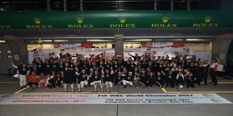 Porsche y Ferrari campeones mundiales del WEC