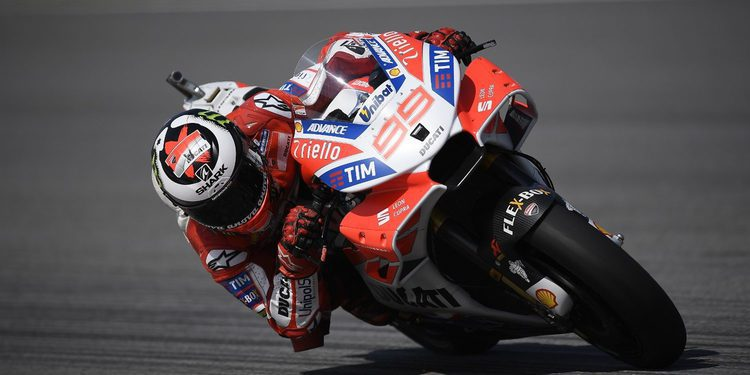 """Jorge Lorenzo: """"Espero finalizar mi primer año con Ducati con un buen resultado"""""""