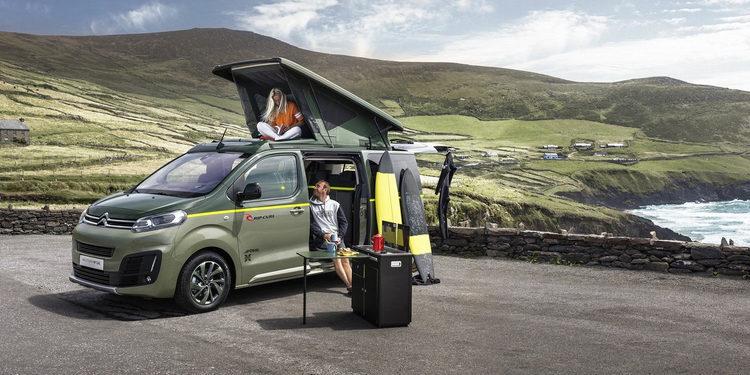 Citroën presenta la Space Tourer Rip Curl