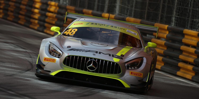Mercedes domina la clasificación de Macao, Dani Juncadella segundo