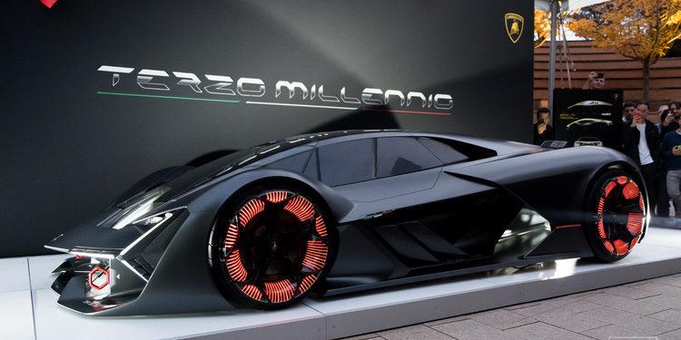 Lamborghini presentó el Terzo Millennio