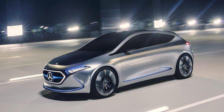 Mercedes EQA el primer compacto eléctrico de la casa Alemana