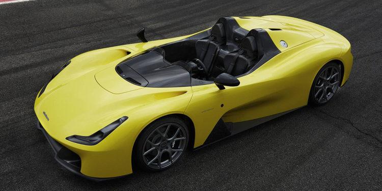Dallara presentó el Stradale, su primer coche de calle