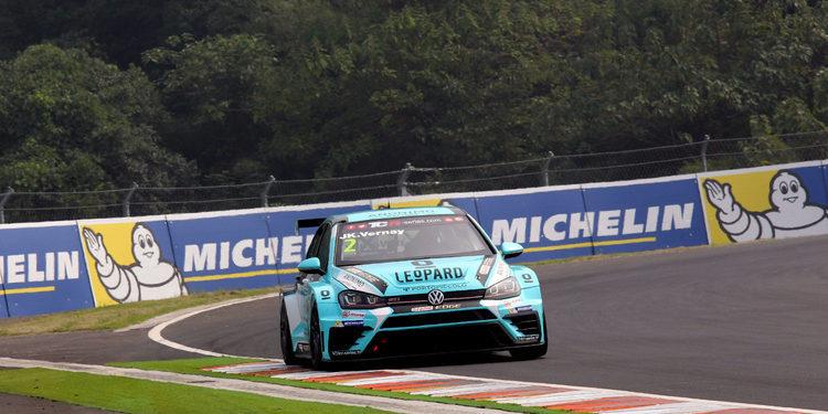 Jean Karl Vernay logra en Dubái el título de las TCR International Series 2017