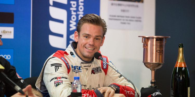 """Tom Chilton: """"Gracias a Sébastien Loeb Racing por el fantástico trabajo que han hecho"""""""