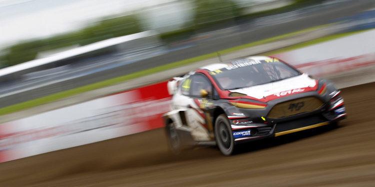 El duelo de los Ford Fiesta RS RX lo ganó MJP Racing Team Austria