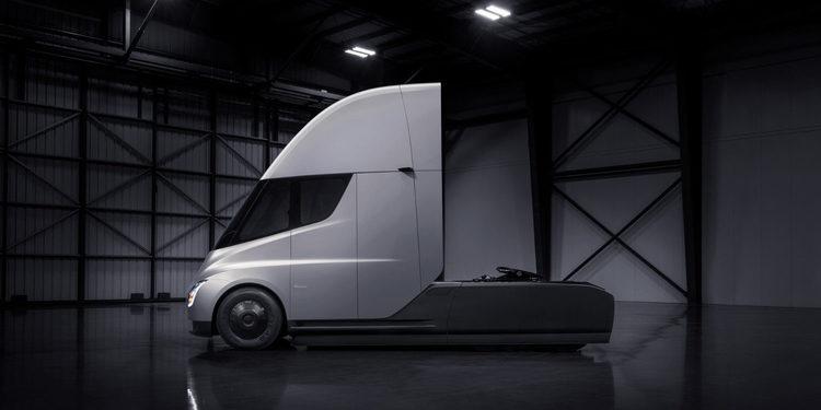 Tesla anunció el Semi Truck 2019
