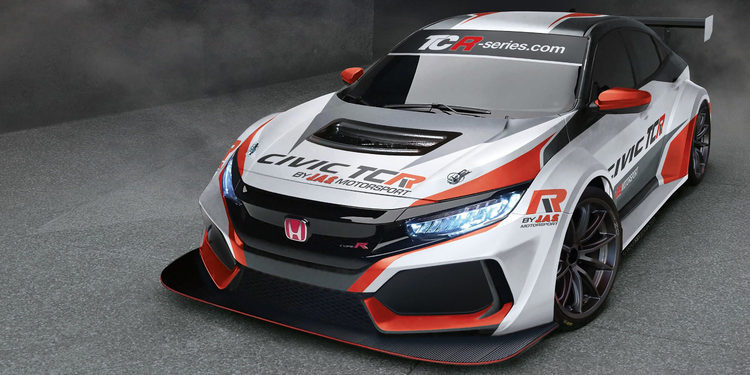 El cambio generacional del Honda Civic Type R TCR