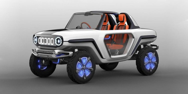 El nuevo concepto eléctrico de Suzuki lleva por nombre E- survivor