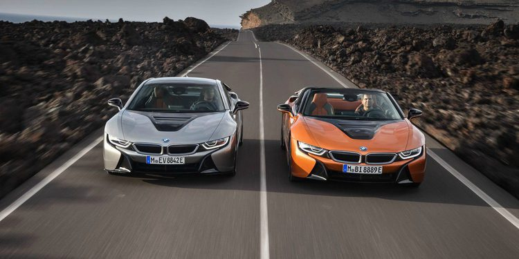 Roadster y Coupé, las versiones del BMW i8
