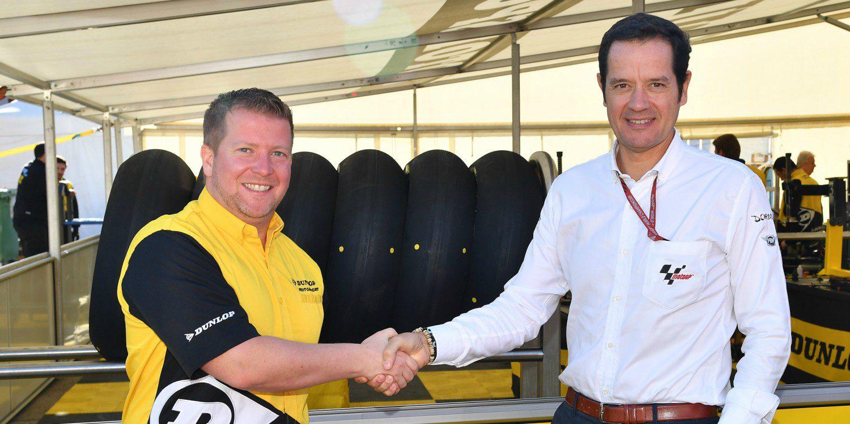 Dunlop suministrará neuméticos en Moto2 y Moto3 hasta 2020