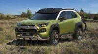 El prototipo Future Toyota Adventure Concept (FT-AC) en L.A. 2017