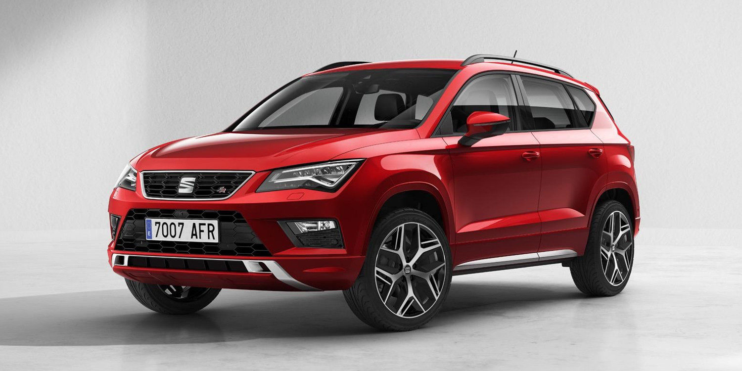 seat ateca 2018 el primer suv de la marca espa ola motor y racing. Black Bedroom Furniture Sets. Home Design Ideas