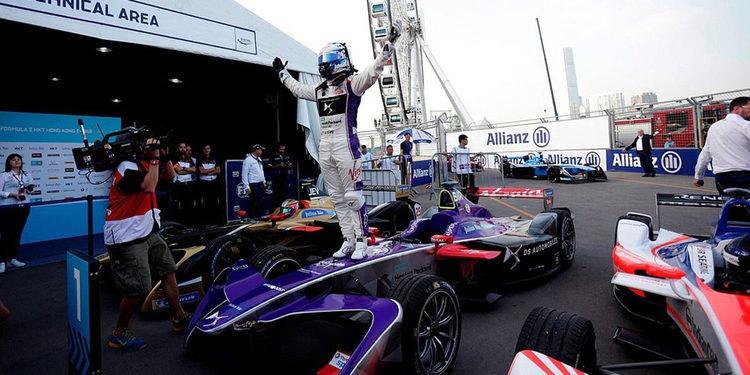Fórmula E: Carrera número 1 del Eprix de Hong Kong
