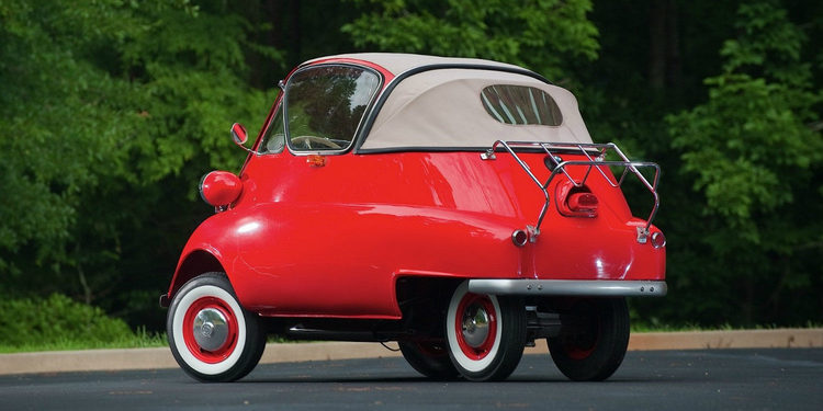 Aprende más sobre el pequeño Isetta 1953